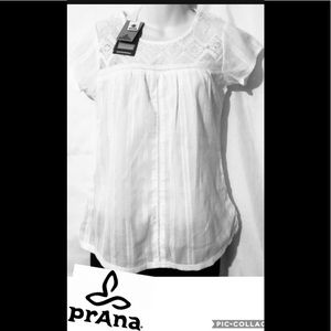 PRANA LACE SUMMER TOPS